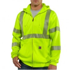 100503- High Visibility Zip-Front Class 3 Sweatshirt