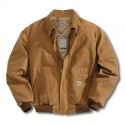 FRJ195 Flame-Resistant Duck Bomber Jacket/Quilt-Lined