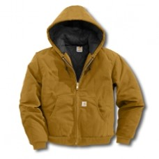 J140 - Quilted-Flannel-Lined Duck Active Jac