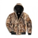 J221- Quilt-Flannel-lined Camo Active Jacket
