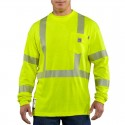 Flame-Resistant High-Visibility Long-Sleeve T-Shirt - Class 3