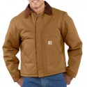 J002: Mens Duck Traditional Jacket/Arctic-Quilt Lined