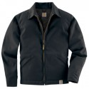 J293: Mens Twill Work Jacket/Midweight Quilt Lined