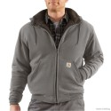 100072-Collinston Brushed Fleece Sherpa-Lined Sweatshirt