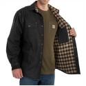 100590-Weathered Canvas Shirt Jac